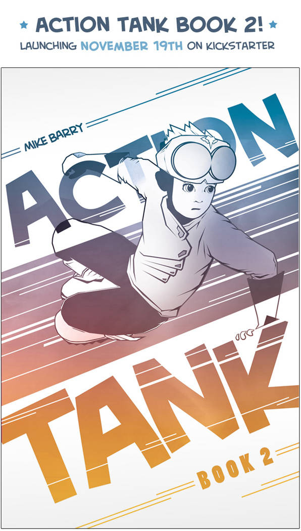 Action Tank Book 2 - launching November 19th on Kickstarter!